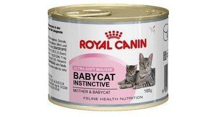 ROYAL CANIN Comida para gatos Babycat Instinctive 12*195gr