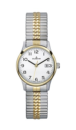 Dugena Classic Ladies Watch Quartz Watch With Metal Strap  4460368