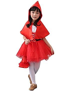Prinzessin Kleid Partei Verrücktes Kleid für Karneval Weihnachten Halloween Fest Cosplay Mädchen Verkleidung 3-8Y