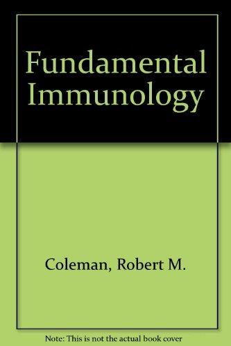 Fundamental Immunology by Robert M. Coleman (1992-01-01) par Robert M. Coleman