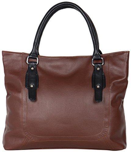 Adisa Women\'s Handbag (Brown,Ad1019-Bro)