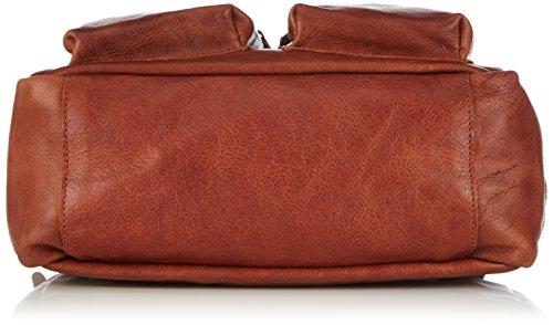 Cowboysbag The Little Bag 1346 Unisex-Erwachsene Henkeltaschen 32x20x14 cm (B x H x T) Braun (Cognac 300)