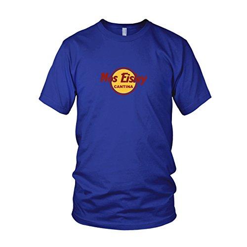 Mos Eisley Cantina - Herren T-Shirt Blau