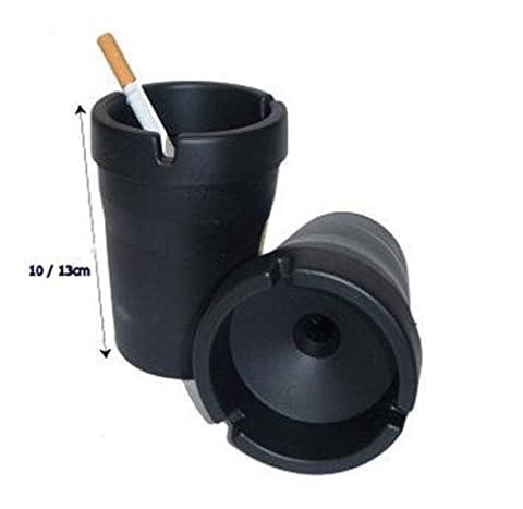Ashtray Cigarette Butt Bucket Self Extinguishing Bin Car Home Office