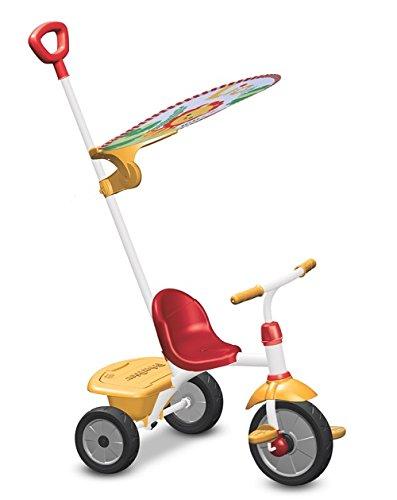 Fisher-Price FP3300133 - Triciclo Glee Plus, Rosso e Giallo