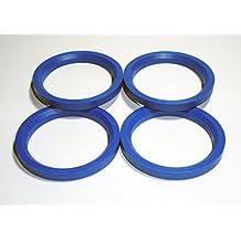 Centradores 4 LLANTA 72-57.1 Aros para Llantas DE Aluminio MAK Matrix TSW Zen