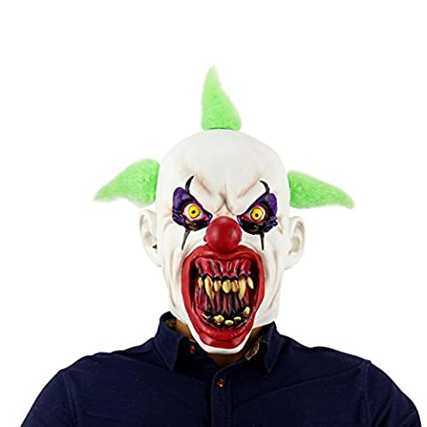 OYOTRIC Scary Bloody Mouse Clown Masques Cosplay Costume Party Halloween Props Horror Latex Mask