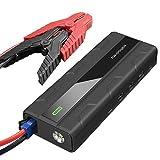Avviatore per Auto da RAVPower Caricabatterie di Emergenza Jump Starter con 1 Porta di Quick Charge