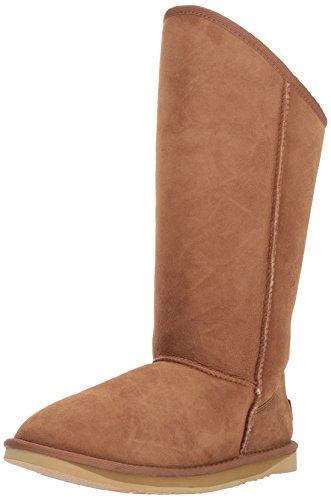 Schaffell Tall Boots (Australia Luxe Collective Damen Cosy Tall Gemütlich Groß, kastanienbraun, 37 EU)
