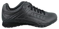 Fila Womens Memory Elleray 5 Slip Resistant Shoe, Black/Black/Black, US 7. 5 M