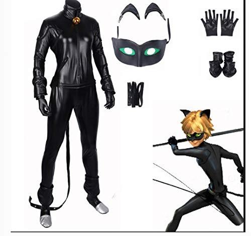 Black Cat Cosplay Kostüm Spiderman - POIUYT Frau Cosplay Marienkäfer Mädchen