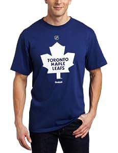 Toronto Maple Leafs Reebok NHL Blue Primary Logo T-Shirt