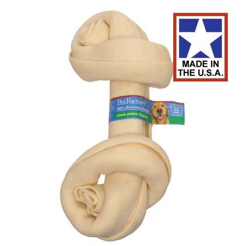 Artikelbild: Pet Factory USA Rawhide Heavy Weight Bone Beefhide Chews Removes Tartar 8-9'