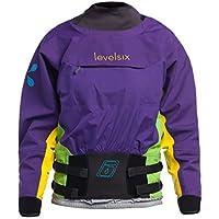 Level Six Nova Dry Top - Chaqueta para Mujer (Tipo Kayak), Color Morado