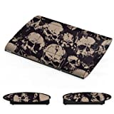 DeinDesign Sony Playstation 3 Superslim CECH-4000 Folie Skin Sticker aus Vinyl-Folie Aufkleber Skull Boese Gothic