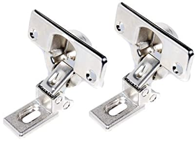 Pair Zanussi AEG Electrolux Tricity Bendix Integrated Washing Machine Decor Door Hinges