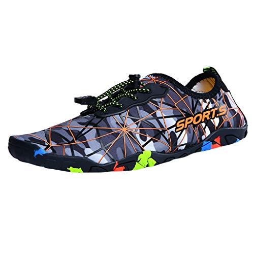 LäSsige Camouflage Sommer Turnschuhe Fitnessschuhe Traillaufschuhe Trekkingschuhe Joggen Jogger Minimalschuhe Wildlinge Schuhe BarfußSchuhe Geschlossene Badeschuhe Aquaschuhe