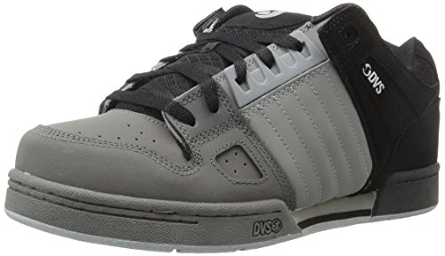 DVS Celsius Black/Charcoal Grey/Nubuck 44.5 / 10.5 (Mens-deck-cruiser)