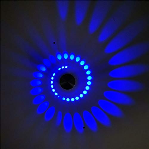 LED Aluminium kreative Wandleuchte, einfache L Spotlight Wandleuchte, Hintergrund Wanddekoration Lampe, Korridor Lampe Spirale Lampe Veranda-Surfacemount3