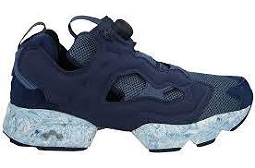 Reebok Pump Instapump Fury ACHM Herren Running Trainers Sneakers (UK 2 US 3 EU 33, Collegiate Navy royal Slate BD1551)