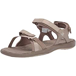 Columbia Femme Sandales, KYRA III, Taille 38, Beige (Silver Sage, Fawn)