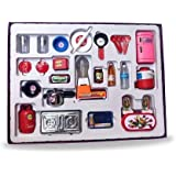 BVM GROUP 28 Pcs Mini Utensils and Plastic Non Toxic Indian Kitchen Set Great Kitchen Toys for Girls (Kid's Love Kitchen…