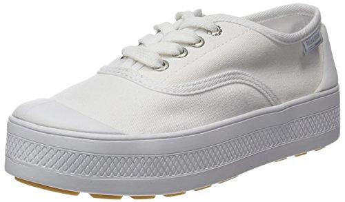 Lona Baja En Paladio, Zapatillas Donna Bianco (blanco 420)