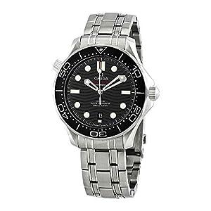 Omega Seamaster Diver 300 Reloj Antimagnético para hombre esfera negra 210.30.42.20.01.001 6