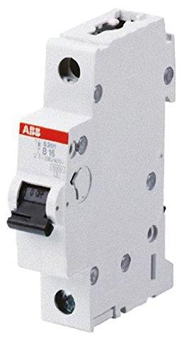 ABB 2cds251001r0505System Pro M Compact Miniatur Leitungsschutzschalter, Single Pole, Typ B, 50A Nennstrom, 88mm H x 17,5mm W x 69mm D (Single-pole-licht)