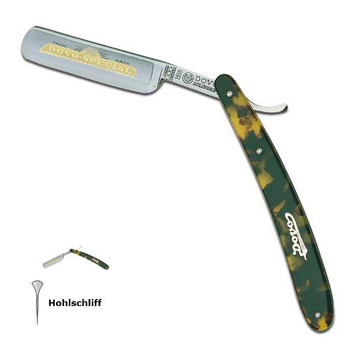 Rasiermesser - nicht rostfrei - 5/8' Hohlschliff - Schlidpatt Imitation - Dovo Solingen - 2209