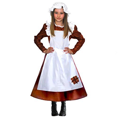 Oliver Twist Mädchen Kostüm - sowest Mädchen Jungen viktorianischen Kostüm