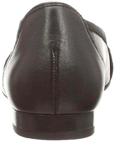 Gabor 22615, Ballerines femme Noir (Black)