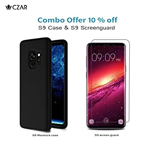 Czar Screenguard Screen Protector High Definition Protective Film for Samsung Galaxy S9