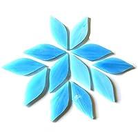 /Azurit 50/g Craft Mosaik Fliesen/ /gebeizt Glas/ /Gro/ße Bl/ütenbl/ätter/