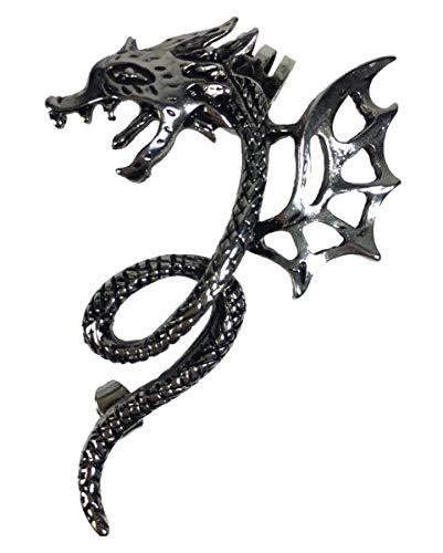 Orecchino con draghi alati