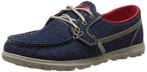 Skechers Performance On-the-go Flagship Slip-on Boat Shoe Denim