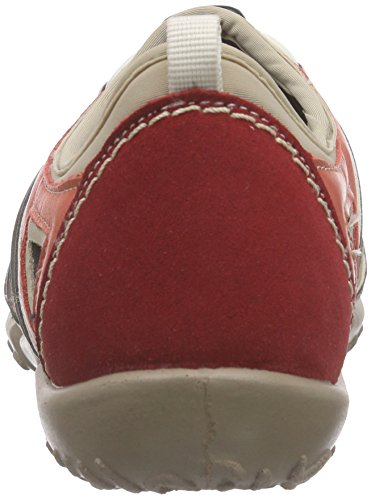 Rohde Mailand, Mocassins femme Rouge - Rot (43 cherry)