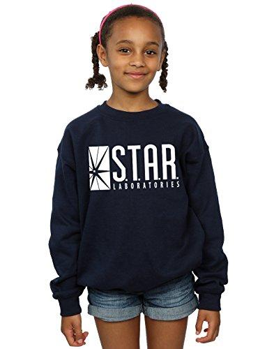 he Flash Star Labs Sweatshirt 12-13 years Marine ()