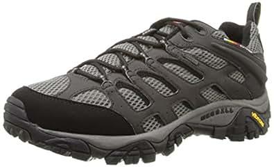 Merrell Moab Gore-Tex, Men's Lace-Up Low Rise Hiking Shoes - Beluga, 7 UK (41 EU)