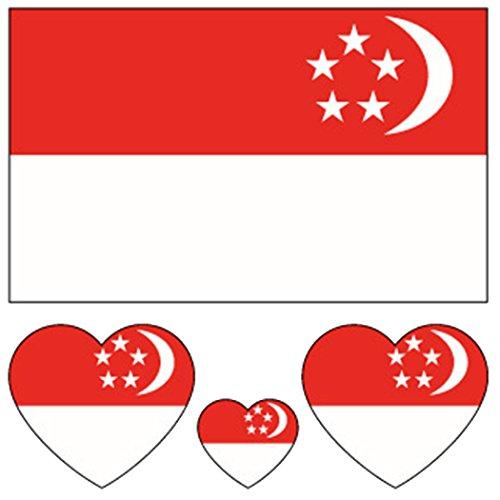 Funpa 20 sheets flag tatuaggi adesivi tatuaggi temporanei impermeabile bandiera nazionale adesivi art tattoo adesivi