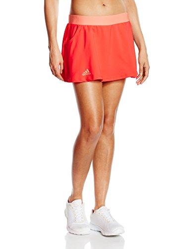 adidas Damen Oberbekleidung Club Skort Tennisrock Shock Red S16/Sun Glow S16, L