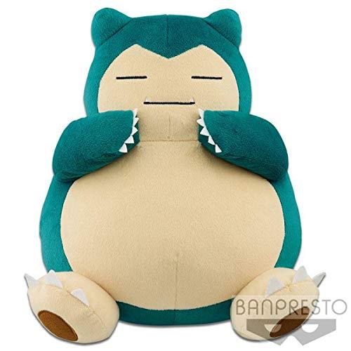 Pokemon Gran Felpa Snorlax 36cm Plush - Original BANPRESTO Japón
