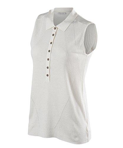 Falke shorts leeved polo natural women abbigliamento sportivo, donna, shortsleeved polo natural women, bianco, m