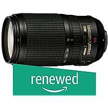 Nikon AF-S Zoom-Nikkor 70-300mm 1:4,5-5,6G VR Objektiv (67mm Filtergewinde, bildstabilisiert) (Generalüberholt)