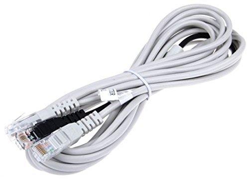 meeboo DSL Telefon Y Kabel für AVM Fritz Box 5012, 5140, 7113, 7140, 7141, 7150, 7170, 7270, 7390 Fritzbox