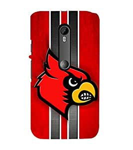 EPICCASE fiery angry bird Mobile Back Case Cover For Moto X Play (Designer Case)