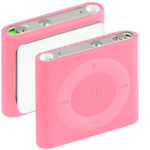 iPod Shuffle Hülle in Pink - Silikonhülle Case Schutzhülle für Apple iPod Shuffle 2015 (Ipod Shuffle Pink)