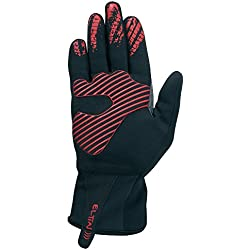 Eltin Ultralight - Guantes unisex, color negro / rojo, talla L