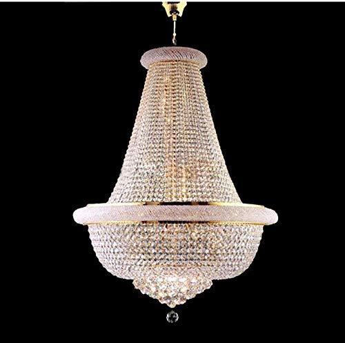 Empire Silber Moderne Kronleuchter (KFGNBS Empire Gold Crystal Chandelier Chrome Chandeliers Lighting Modern Chandeliers Light)