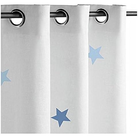 Nanelle N11REB-Cortinas, diseño de estrellas